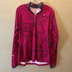 Nike 1/4 zip dry fit size large